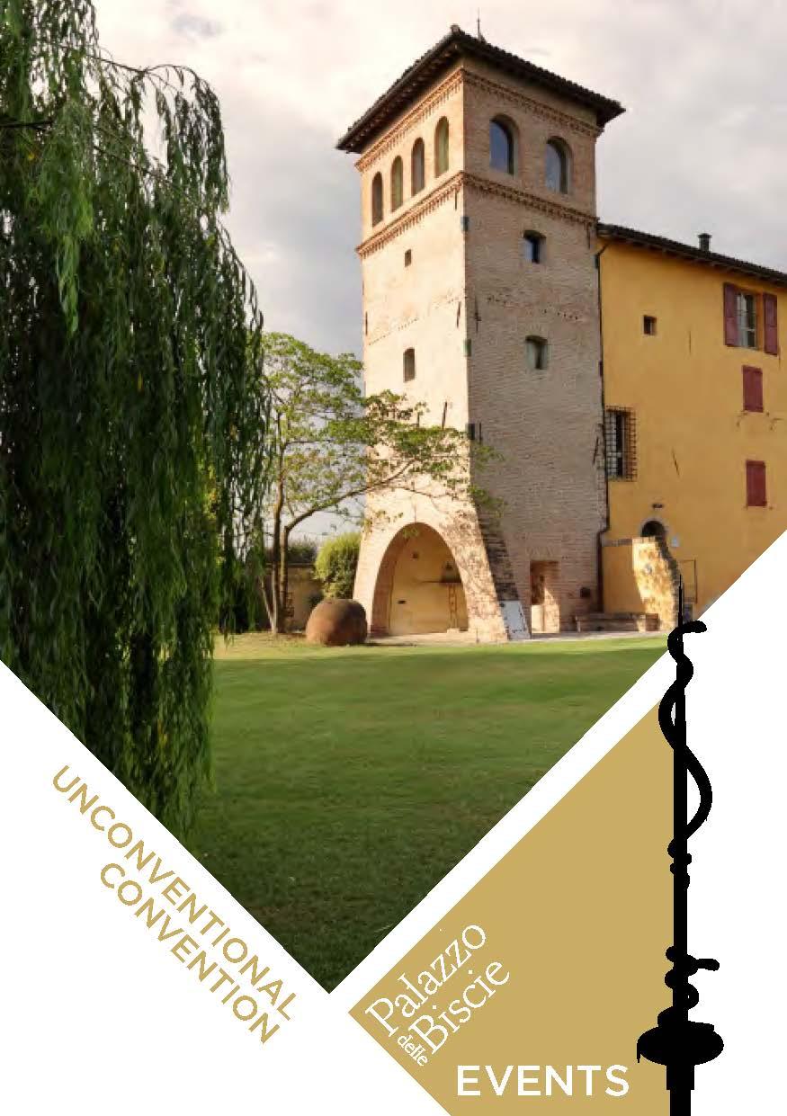 Palazzo delle Biscie EVENTS: la nuova brochure
